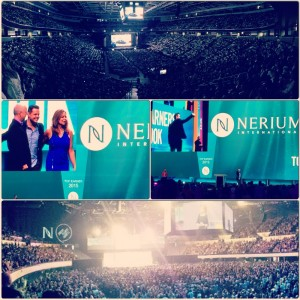 Evan Klassen Nerium ON stage recognition Nerium International