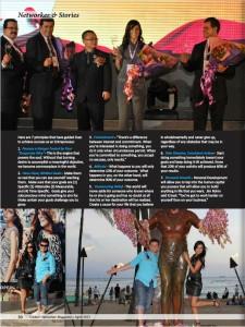 Evan Klassen feautured in a United Networker Magazine_magazine