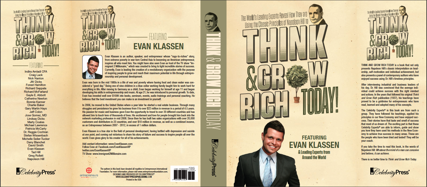Evan Klassen_ Entrepreneur_Business Man_ Immigrant Entrepreneur_Tink and Grow Rich Napoleon Hill