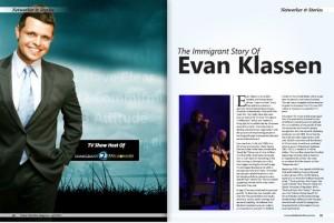 Evan Klassen in a Magazine 1