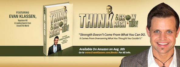 "I feel like a kid in a candy store. My book has just arrived"" Think and Grow Rich Today"" officially in my hands"